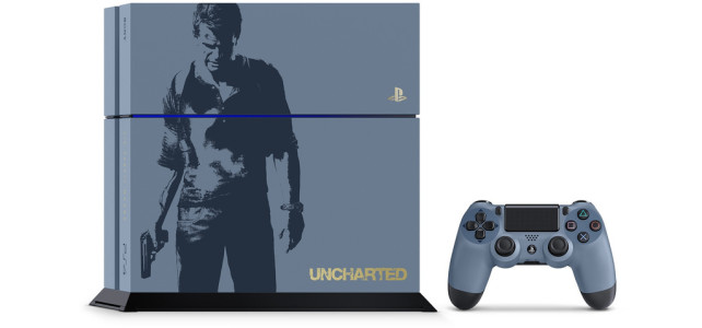 Limited Edition Uncharted 4 PS4 Bundle Out April 26th